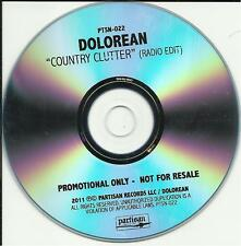 DOLOREAN Country Cutter RARE EDIT PROMO DJ CD single