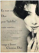 PUBLICITE ADVERTISING  1959   CHRISTIAN DIOR   cosmétiques