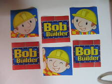Bob the Builder Fabric Iron Ons Appliques  (style #10)