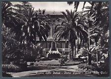 SAVONA PIETRA LIGURE 16 HOTEL ALBERGO Cartolina FOTOGRAFICA viaggiata 1956