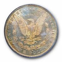 1884 O $1 Morgan Dollar PCGS MS 63 PL Proof Like Uncirculated OGH Cert#557