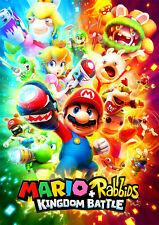Mario and Rabbids Poster A5 A4 A3 A2 A1