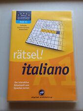 Rätsel! italiano (PC) - Der interaktive Rätselspaß zum Italienisch lernen! (A1)