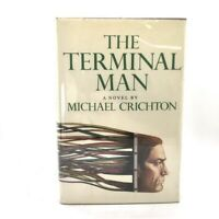 Signed 1st Edition 1st Printing The Terminal Man Michael Crichton Knopf 1972