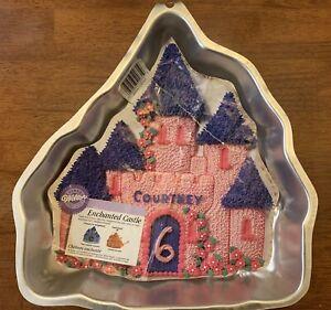 Wilton Enchanted Castle Princess Prince Metal Cake Pan