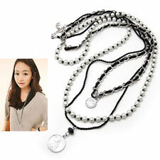 Pearl Leather Beauty Fashion Necklaces & Pendants