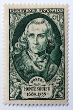 FRANCE CÉLÉBRITÉS TIMBRE NEUF N° 853 **  MNH MONTESQUIEU CHARLES DE SECONDAT  B4