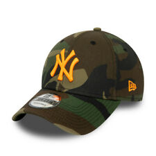 NEW ERA 940 MLB CAMO ESSENTIAL CAP LOS NEW YORK YANKEES NY GORRA 12381202 NEGRO