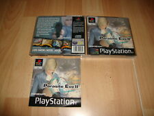 PARASITE EVE II 2 DE SQUARESOFT PARA LA SONY PS1 ORIGINAL VERSION EN BUEN ESTADO