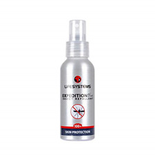 Lifesystems Unisex's Expedition 100+ DEET Insect Repellent Plus 100ml Spray,