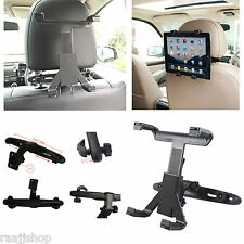 UNIVERSAL IN CAR BACK SEAT HEADREST HOLDER MOUNT CRADLE FOR SAMSUNG TAB A S2 S3