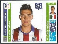 PANINI UEFA CHAMPIONS LEAGUE 2014-15- #054-ATLETICO MADRID-RAUL JIMENEZ
