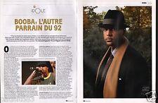 Coupure de presse Clipping 2011 Booba le rappeur   (4 pages)