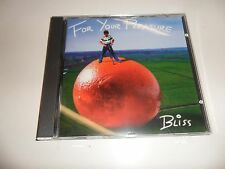 Cd  for your pleasure von BLISS (1995)