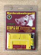 STOP & GO 07533 martora Protezione ultrasuoni dispositivo batteria tipo 4b martora difesa
