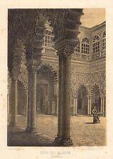 España. Andalucía. Sevilla. «Patio del Alcázar»