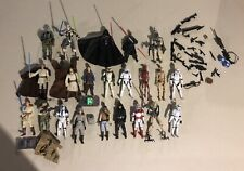 """HUGE Lot of Star Wars Action Figures 4""""Length Many Accessories Please Read Below"""