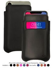 iPhone 11 Pro / iPhone Xs Case | Screen Cleaning Sanitizing Sleeve Window Pouch