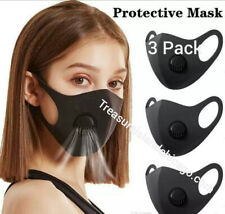 Breathable Face Mask With Filter (3 Masks Per Pack)