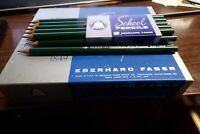 One Dozen Pointed Vintage Eberhard Faber Mongol No.2 293 Fine Writing Pencils