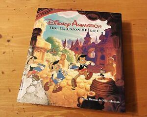 Disney Animation: The Illusion of Life, 1981 HC Thomas, Johnston 1st ed. 4th prt