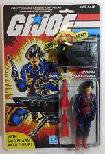 Reproduction packaged G.I. Joe 1984 Cobra Anti-Armor Special { CN: Scrap-Iron }