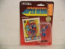 1990 ERTL DC COMICS SUPER HEROES DIE CAST METAL SUPERMAN