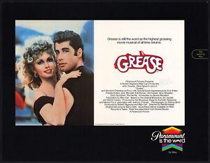 GREASE__Original 1979 Trade AD / poster__Paramount__OLIVIA NEWTON JOHN_TRAVOLOTA