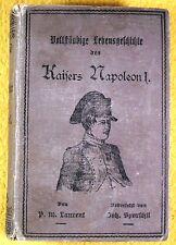 Napoleone IMPERATORE 1-DI P.M. LAURENT, noehler's che Buchhandlung Basilea