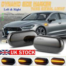2 Dynamic LED Side Marker Indicator Light For Nissan Opel Vivaro Movano Repeater