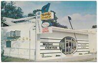 Postcard Music Center Clearwater Florida Band Instruments Repair Pinellas FL