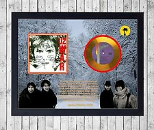 U2 WAR CUADRO CON GOLD O PLATINUM CD EDICION LIMITADA. FRAMED