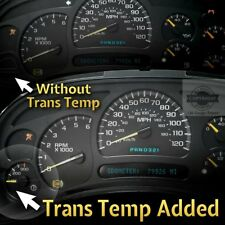 Add Trans Temp Gauge Service + Rebuild 03 40 05 06 GM Truck SUV Instrument IPC's