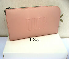 Dior Pink Clutch/Travel Pouch/Purse/Make Up Bag  Box not perfect