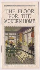 Linoleum Advert color bklet Blabon Co Phila 10 color pp Patterns Interiors 1925