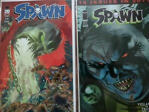 Spawn 211 And 215 Signed