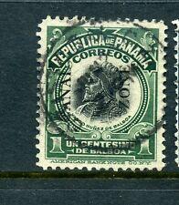 Canal Zone Scott #46 Type III  USED  Stamp (Stock #CZ46-28)