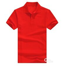 Men's Polo Shirt Golf Sports Cotton Short Sleeve Jersey Casual Plain T Shirt New