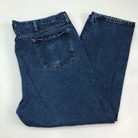 Rustler Jeans Mens 44X30 Blue Straight Leg Regular Fit 100% Cotton Medium Wash