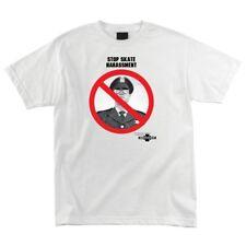 Independent Trucks Service Announcement Skateboard T Shirt White Xxl