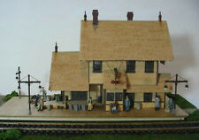 HO/HOn3 WISEMAN MODEL SERVICES REA-15 HORSESHOE MEADOW DEPOT CRAFTSMAN KIT FSM