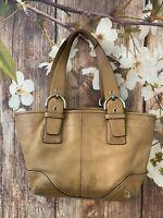 Coach SoHo handbag Brown Leather, -9544