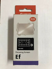Brand New Genuine Canon Ef-D Focusing Screen ~Free Shipping~