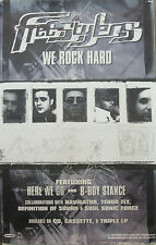 FREESTYLERS We Rock Hard, orig Mammoth promotional poster, 1999, 11x17, EX!