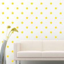 "180 of 2"" Light Yellow Star Diy Removable Peel Stick Wall Vinyl Decal Sticker"
