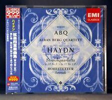Alban BERG Qrt HAYDN: Streichquartett JAPAN 2013 CD TOCE-16392 Factory Sealed CD