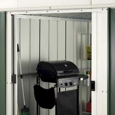 284 Customer Returned Yardmaster Apex Metal Shed Floor Max Size 9ft 11 X 13ft