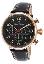 Lucien Piccard Trieste GMT Chronograph Mens Watch 72415-RG-01