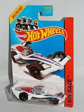 Hot Wheels 2014 HW Race Thrill Racers #152 Madfast White w/ SKs & OH5SPs
