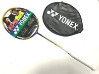 NEW YONEX NANORAY 9 VERY LIGHT BADMINTON RACKET STRUNG  3UG5 MAX POWER FREE GRIP